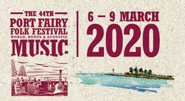 Scene News: Exciting full program for 2020 Port Fairy Folk Festival announced