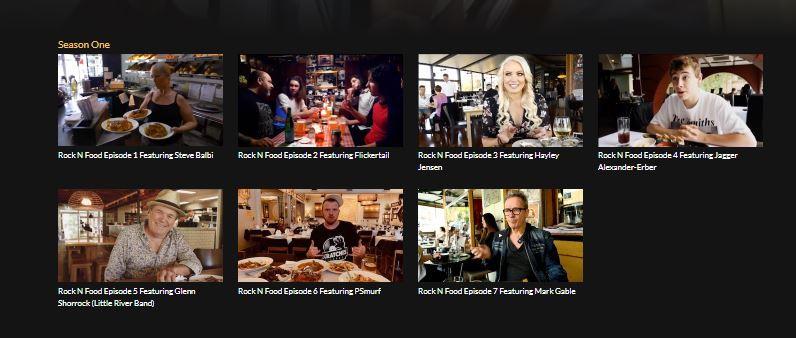 Scene News: ROCK N FOOD series added to Virgin inflight entertainment