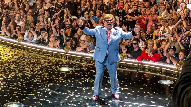 Snap Scene: Elton John, Rod Laver Arena, 10th December 2019