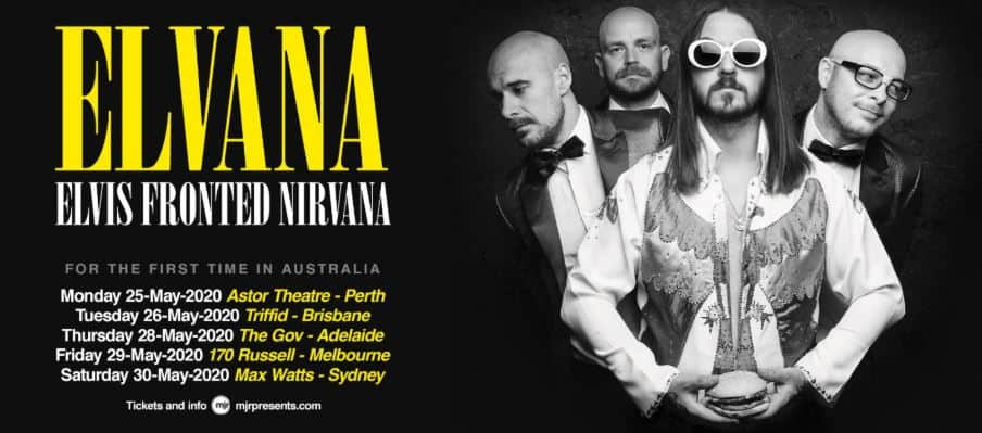 Scene News: Elvis-Themed Nirvana-Tribute Band Announce Australia Tour