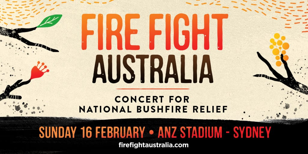 Scene News: Alice Cooper, QUEEN & Adam Lambert, and kd Lang amongst the first line-up of artists announced for FIRE FIGHT AUSTRALIA ~ tickets on sale at 12 noon today!