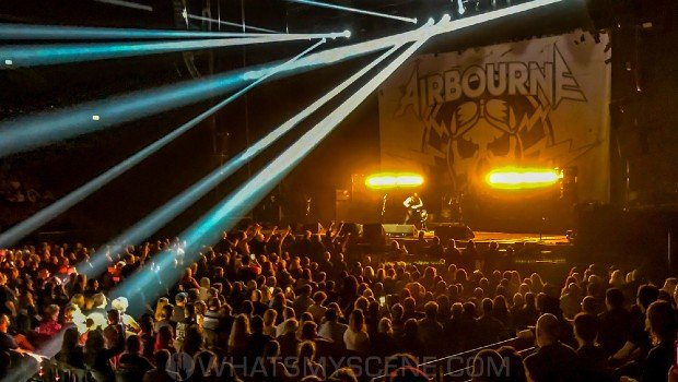 Snap Scene: Airbourne, Quodos Bank Arena, Homebush, 15th February 2020