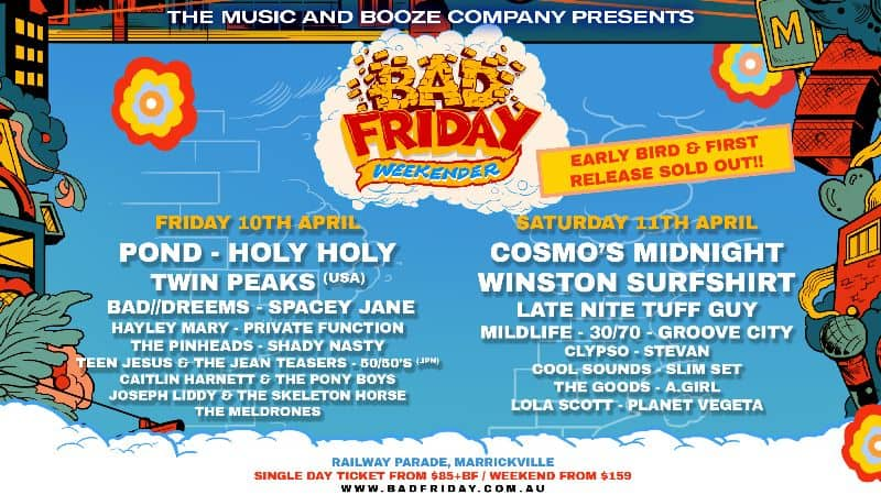 Scene News: Bad Friday Weekender Adds New Stage and 20 New Acts