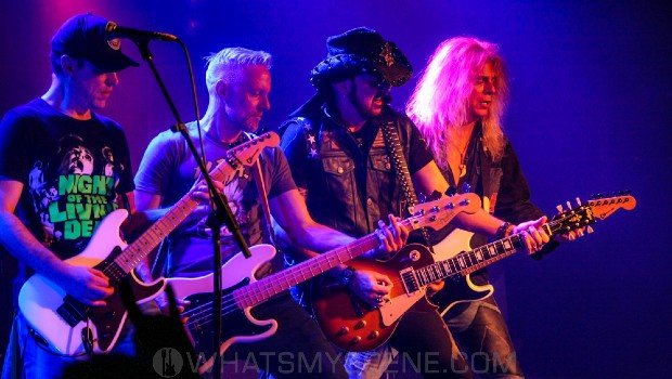 Snap Scene: Ron Keel, The Croxton, Melbourne 7th March 2020