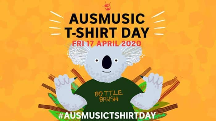Scene News: Ausmusic T-Shirt Day brought forward to Friday 17th April