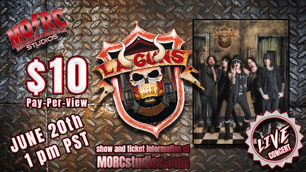 Scene News: Worldwide L.A. Guns Live Stream Broadcast