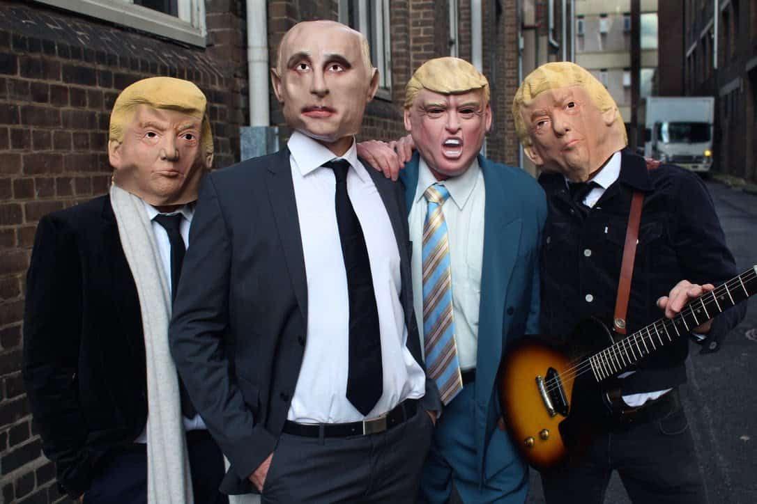 Scene News: Hoodoo Gurus' Trump-baiting new tune is out today!