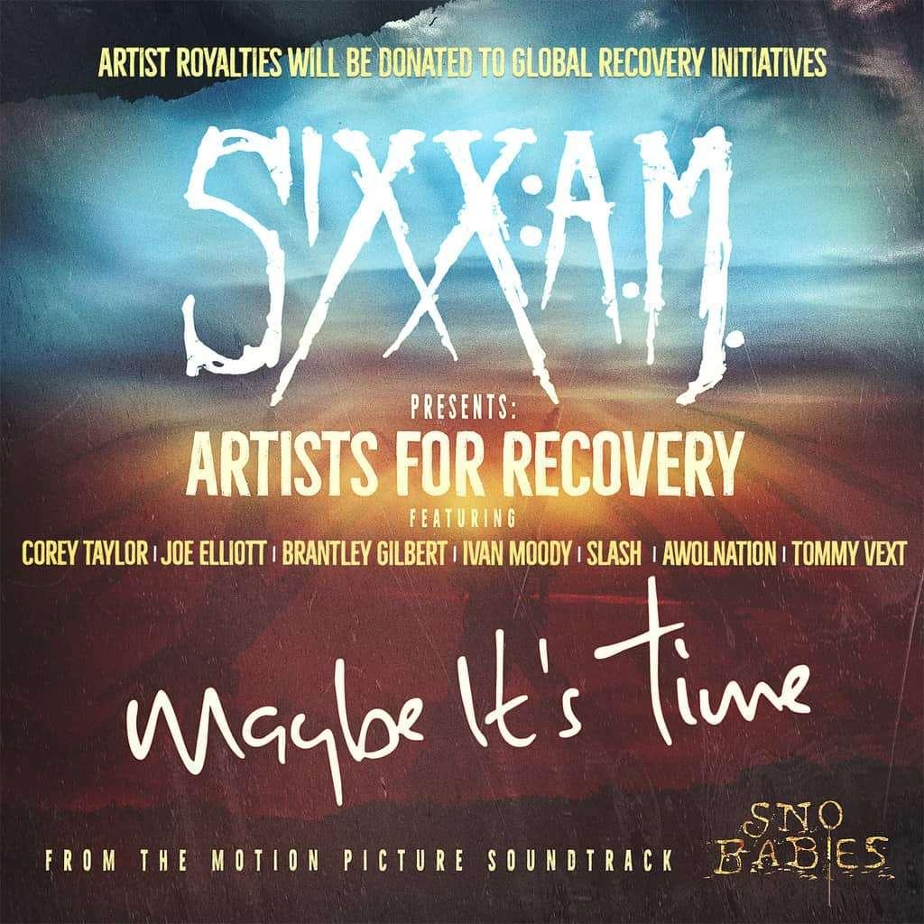 Scene News: Nikki Sixx, Corey Taylor, Joe Elliott, Slash & more, Lead Initiative To Save Lives via Artists For Recovery