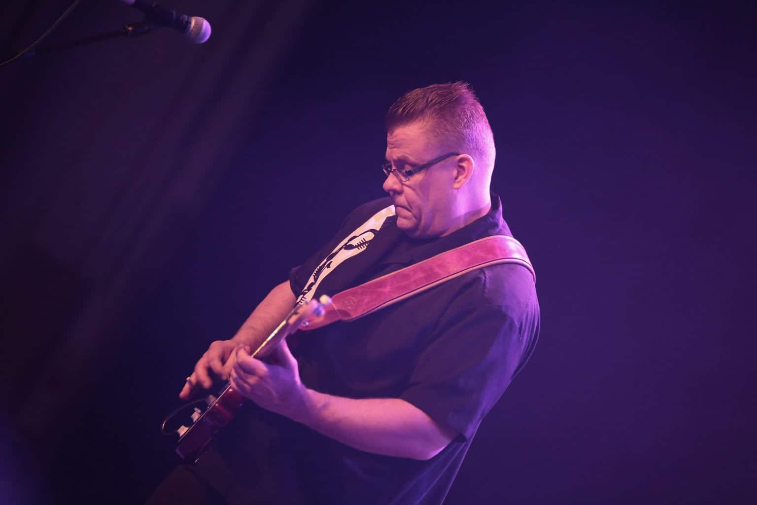 Performer Scene: Juha, guitarist with The Beatmakers, Finland