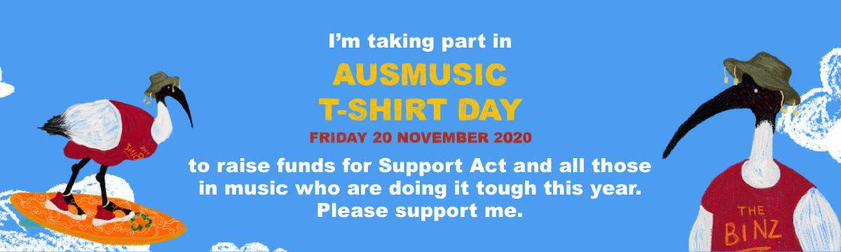 Scene News: 📣 Ausmusic T-Shirt Day 2020 is coming 🎸
