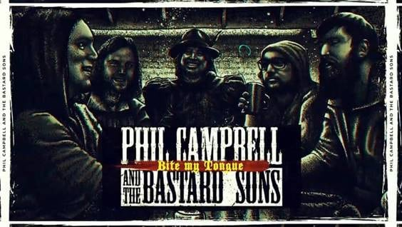 Scene News: PHIL CAMPBELL AND THE BASTARD SONS Release New Single And Lyric Video For 'Bite My Tongue' + Launch ''We're The Bastards'' Crew Shirt'