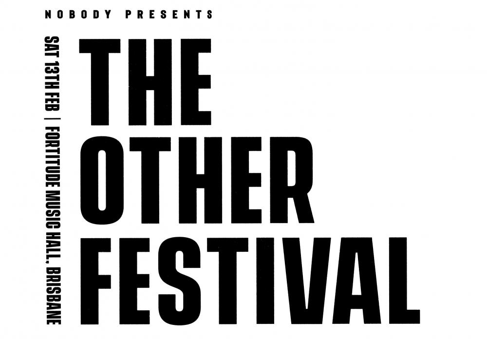 Scene News: COG headlines first ever The Other Festival at Brisbane's Fortitude Music Hall February 13 - Tickets ONSALE this Friday