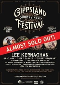 Scene News: Gippsland Country Music Festival's inaugural event looks set for a sell-out