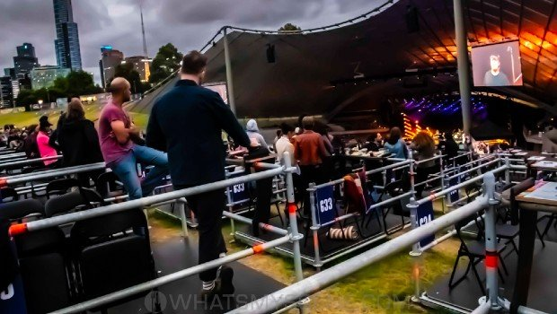 Review Scene: Happy Mondays: Cash Savage and the Last Drinks, The Meanies, Sidney Myer Music Bowl, 1st February 2021
