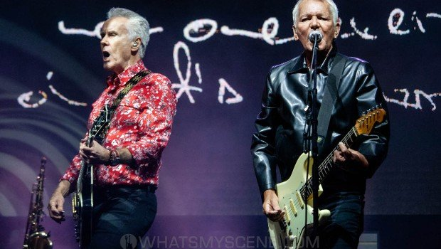 Snap Scene: Icehouse at By the C, Catani Gardens, Melbourne 14th March 2021