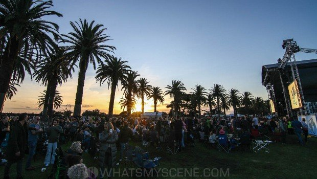 Snap Scene: James Reyne at By the C, Catani Gardens, Melbourne 14th March 2021
