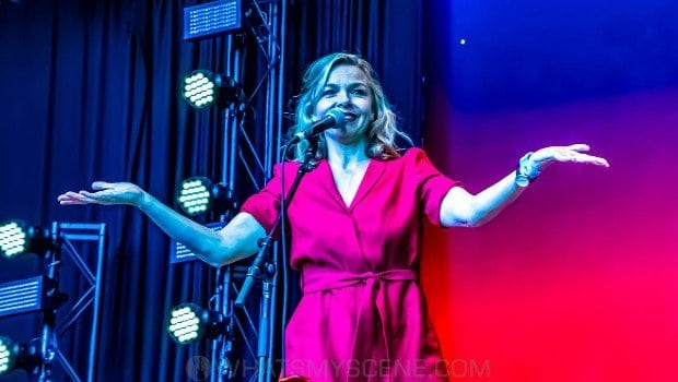 Snap Scene: Dan Sultan & Justine Clarke - Kids At The Bowl, Sidney Myer Music Bowl, 6th March 2021