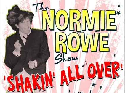Scene News: ARIA Award Winner and National Hero, NORMIE ROWE, is SHAKIN' ALL OVER at MEMO Music Hall on ANZAC DAY EVE