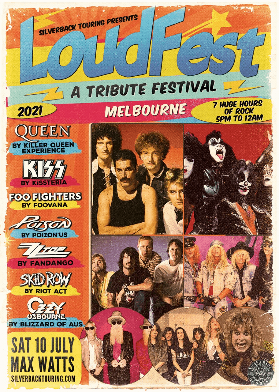 Scene News: LOUDFEST - A TRIBUTE FESTIVAL - is ready to rock Melbourne
