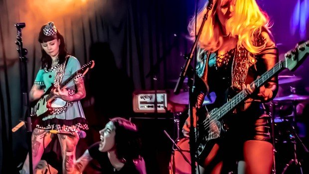 Snap Scene: Electric Purrs, The Gasometer, 14th May 2021