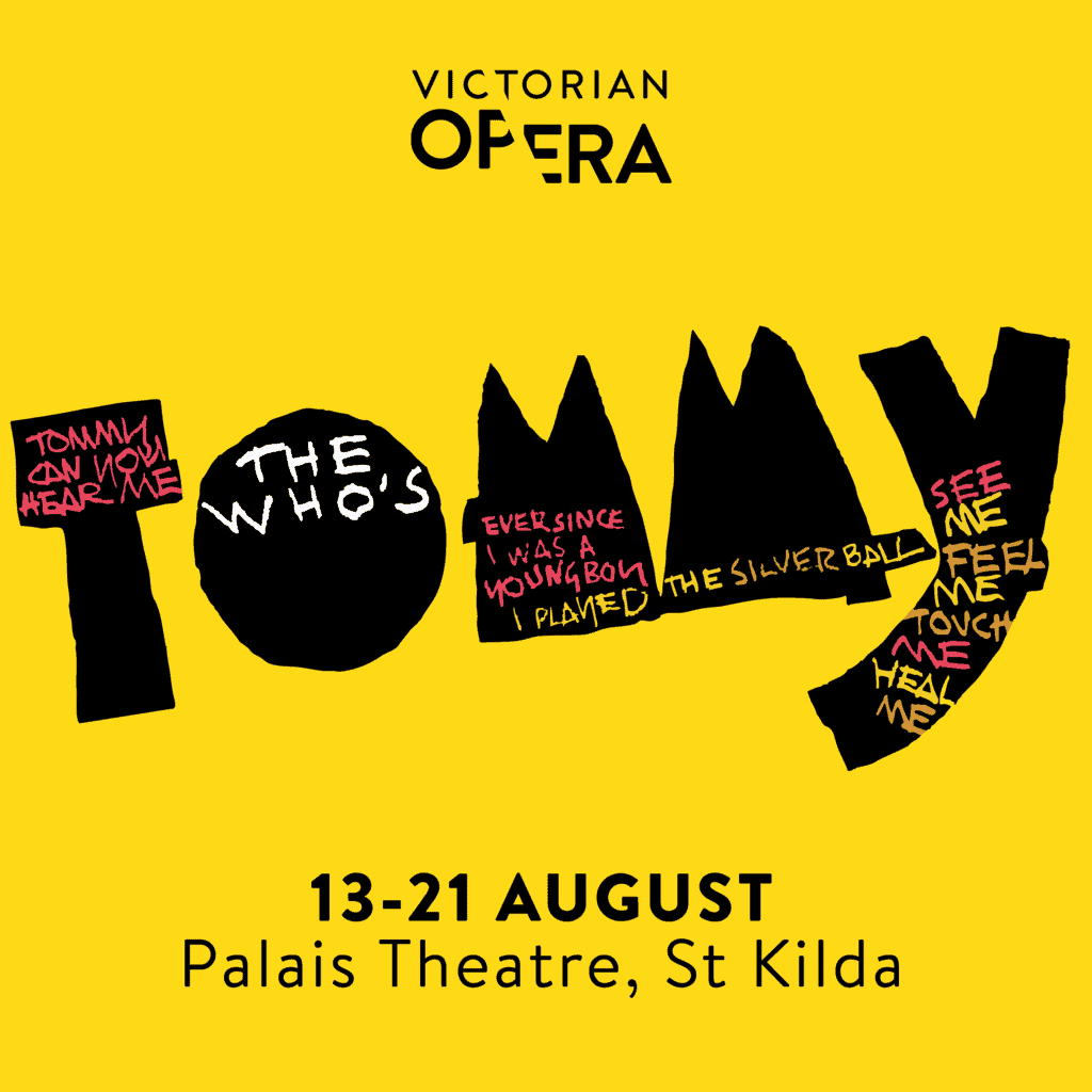 Scene News: Victorian Opera Announces New Cast Members for THE WHO'S TOMMY Opening 13th August