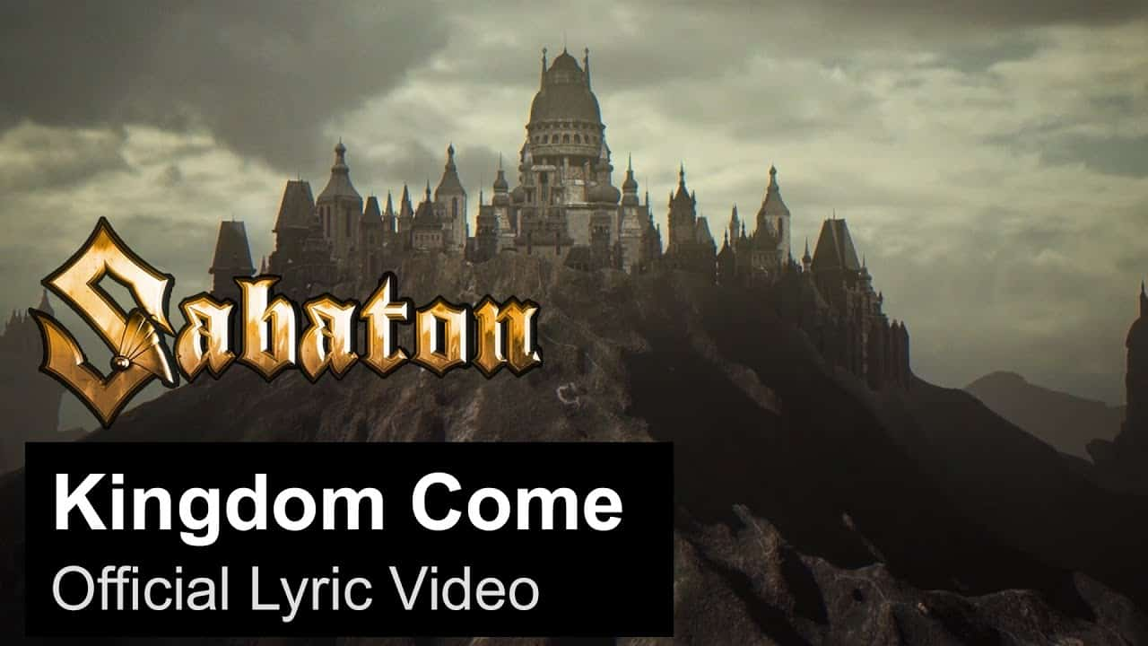 Scene News: SABATON Release New 2-Track Single 'Kingdom Come / Metal Trilogy'