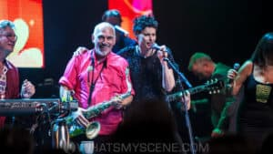 Snap Scene: Apia Good Times Tour: Mentals, Black Sorrows, Colin Hay, Deborah Conway - Ulumburra Theatre Bendigo 27th May 2017