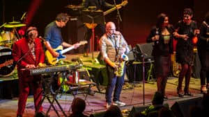 Snap Scene: The APIA Good Times Tour, Mentals, Black Sorrows, Colin Hay, Costa Hall Geelong - 27th May 2017