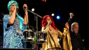 Snap Scene: The B52s, Margaret Court Arena, Melbourne. 7th February 2017