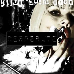 Barb Wire Dolls DESPERATE ALBUM COVER