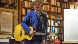 "Snap Scene: Dave Graney ""Workshy"" Book Launch, Camperdown, NSW. 26th November 2017"