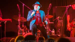 Snap Scene: Glenn Shorrock & Steve Hoy, Satellite Lounge - 29th April 2017