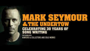 Review Scene: Mark Seymour and The Undertow, Athenaum Theatre - 21st July 2017