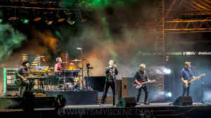 Snap Scene: Midnight Oil, The Domain, Sydney, 17th November 2017