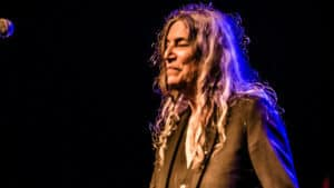 Snap Scene: Patti Smith & Courtney Barnett, Festival Hall, Melbourne - 20th April 2017