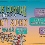Scene News: 'Santa Is Coming To Mansfield' Featuring Violent Soho With Waax & Aaron Gocs As Santa