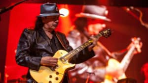 Snap Scene: Santana, Rod Laver Arena, Melbourne - 11th April 2017