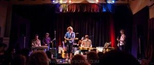 Snap Scene: Alison Ferrier & Jed Rowe album launch - Bella Union, Fitzroy. 1st August 2015