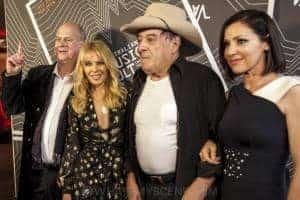 Michael Gudinski, Kylie Minogue, Molly Meldrum & Tina Arena