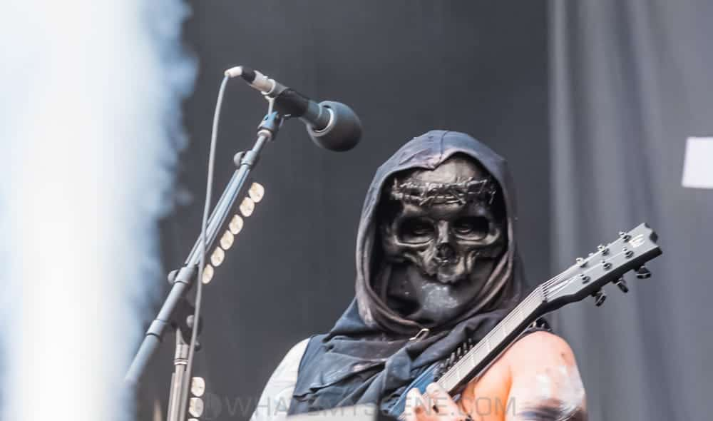Snap Scene: Behemoth at Download Festival, Flemington 11th