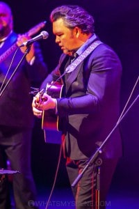 Daniel Thompson's Johnny Cash Show, Horsham Town Hall 3rd August 2019 by Mandy Hall (23 of 34)