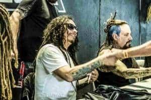 Korn signing
