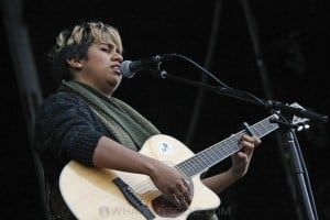Emily Wurramara, A Day on the Green at Rochford Wines, Melbourne 9th November 2019 by Paul Miles (14 of 15)
