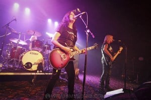 Girlschool, The Croxton, Melbourne 29th June 2019 by Paul Miles (11 of 29)