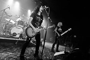 Girlschool, The Croxton, Melbourne 29th June 2019 by Paul Miles (12 of 29)