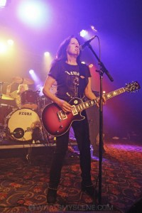 Girlschool, The Croxton, Melbourne 29th June 2019 by Paul Miles (16 of 29)