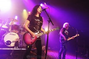 Girlschool, The Croxton, Melbourne 29th June 2019 by Paul Miles (17 of 29)