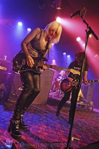 Girlschool, The Croxton, Melbourne 29th June 2019 by Paul Miles (18 of 29)