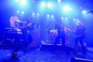 Girlschool, The Croxton, Melbourne 29th June 2019 by Paul Miles (1 of 29)