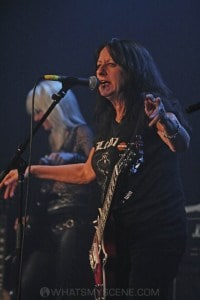 Girlschool, The Croxton, Melbourne 29th June 2019 by Paul Miles (21 of 29)